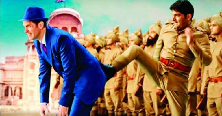 Kapil Sharma in his film Firangi