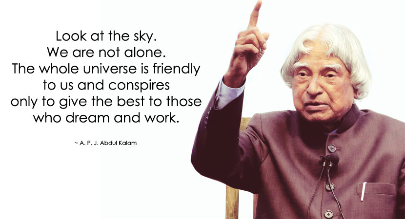 Most Popular And Inspirational Quotes Of A P J Abdul Kalam