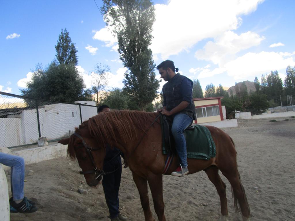 Kunal aims to use horses as main transportation medium 1