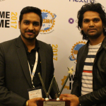 Kunal and CTO with SME Excellence Award