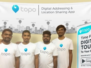 """ToPo"" : A Digital Address and Location sharing App"