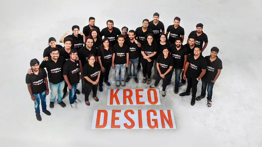 KREO: the success story inspired by  design