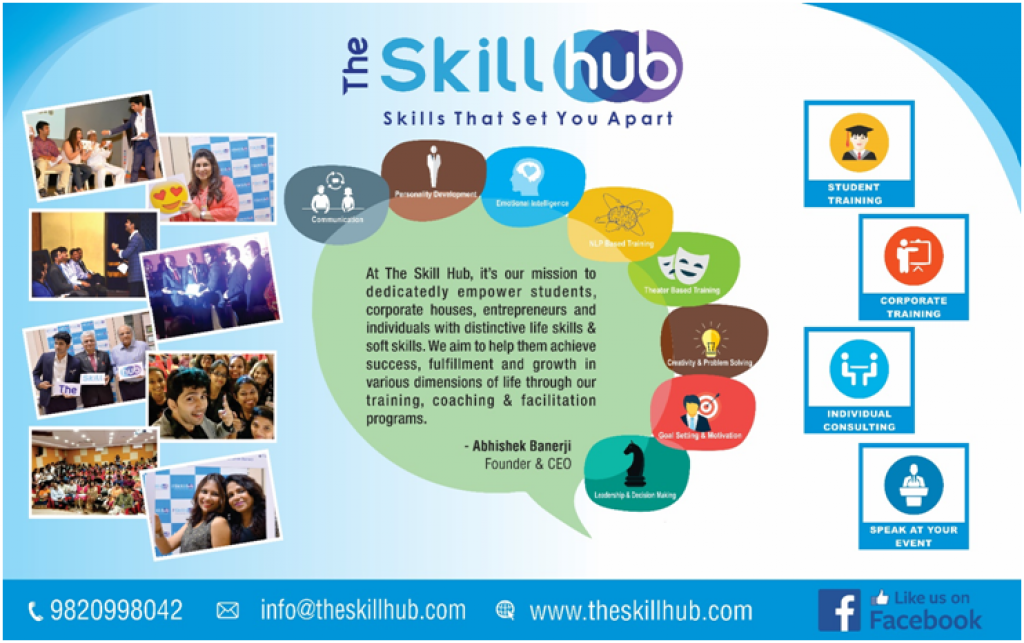 An exclusive and inspiring interview with Abhishek Banerji, while he talks about his entrepreneurial venture The Skill Hub.