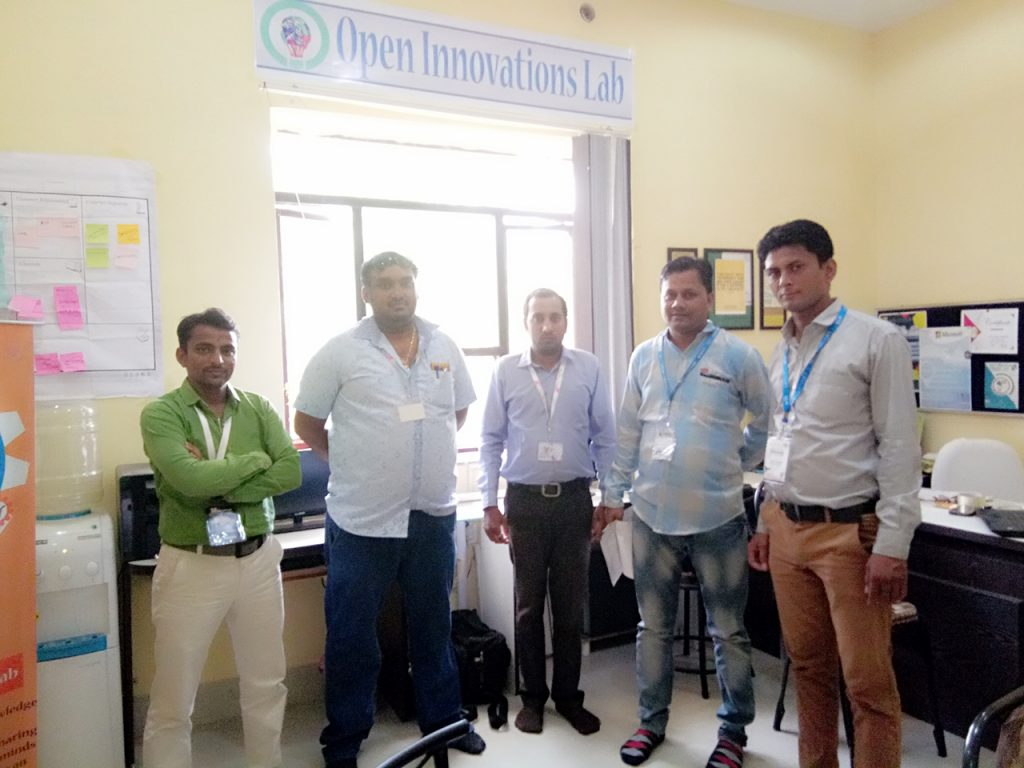 """Open innovations lab""  that brings together technical experts, co-innovators, implementation specialists and progressive corporate collaborators"