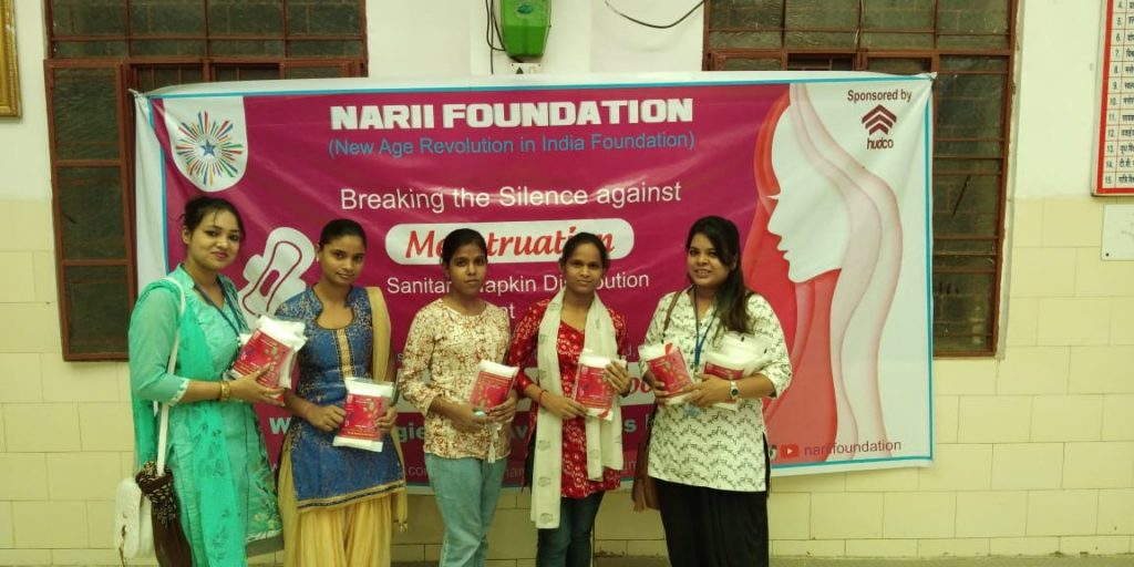 Meet this Delhi based NGO NARII Foundation driven for making a social shift with its project Taboo of Blood catering to Menstrual Hygiene and Awareness drive.