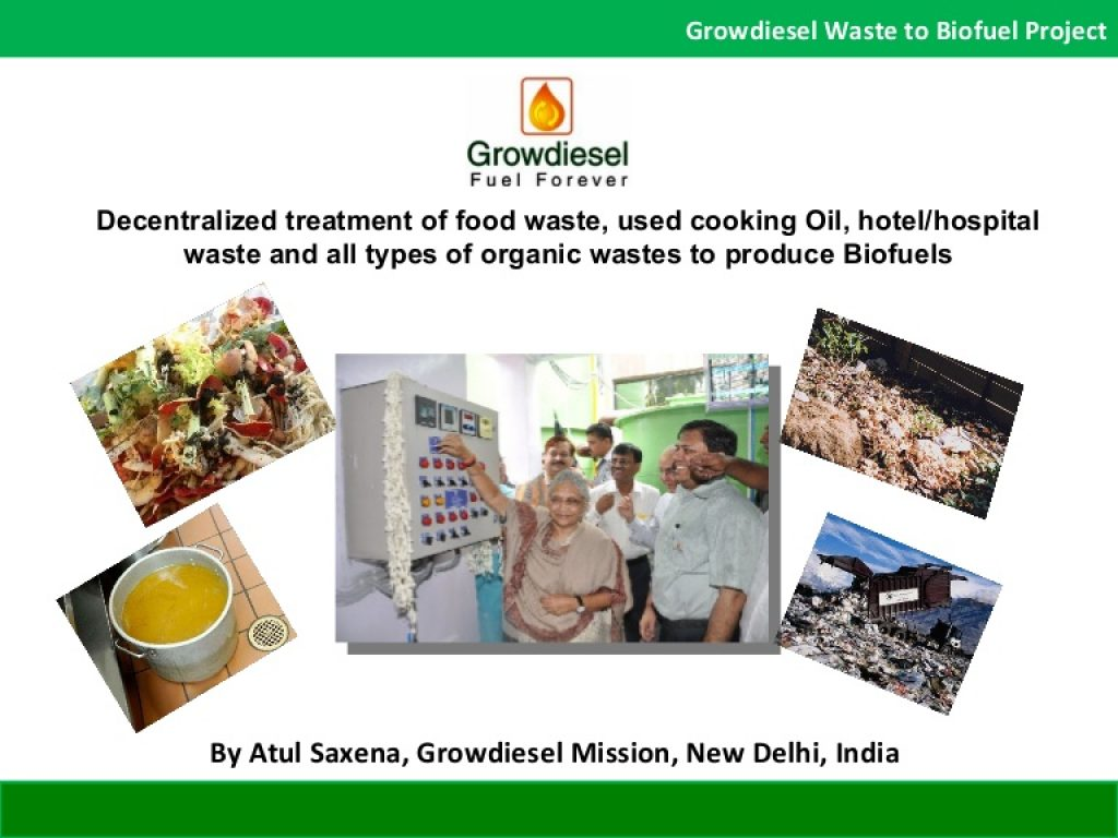 Why Atul Saxena and his company Growdiesel Ventures Limited turned down Rs. 140 Crore to continue pursue their vision of making India Fuel Independent by 2030