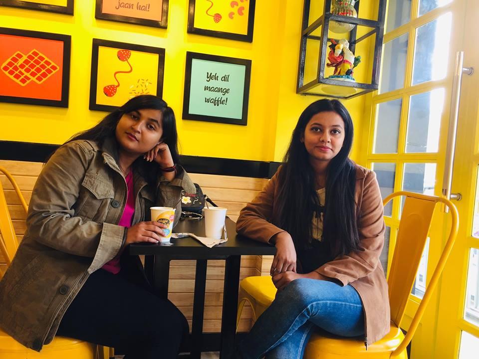 Co-Founder – Ms Yashi Malviya (Left) Co-Founder  - Ms. Sukirti Yadav (Left)