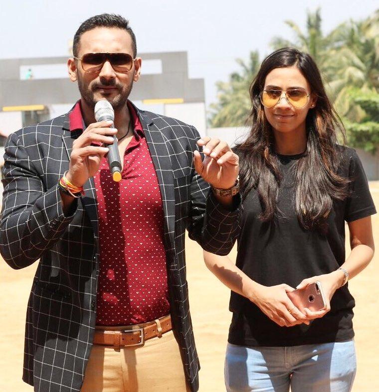 Tarun Gill with Wife