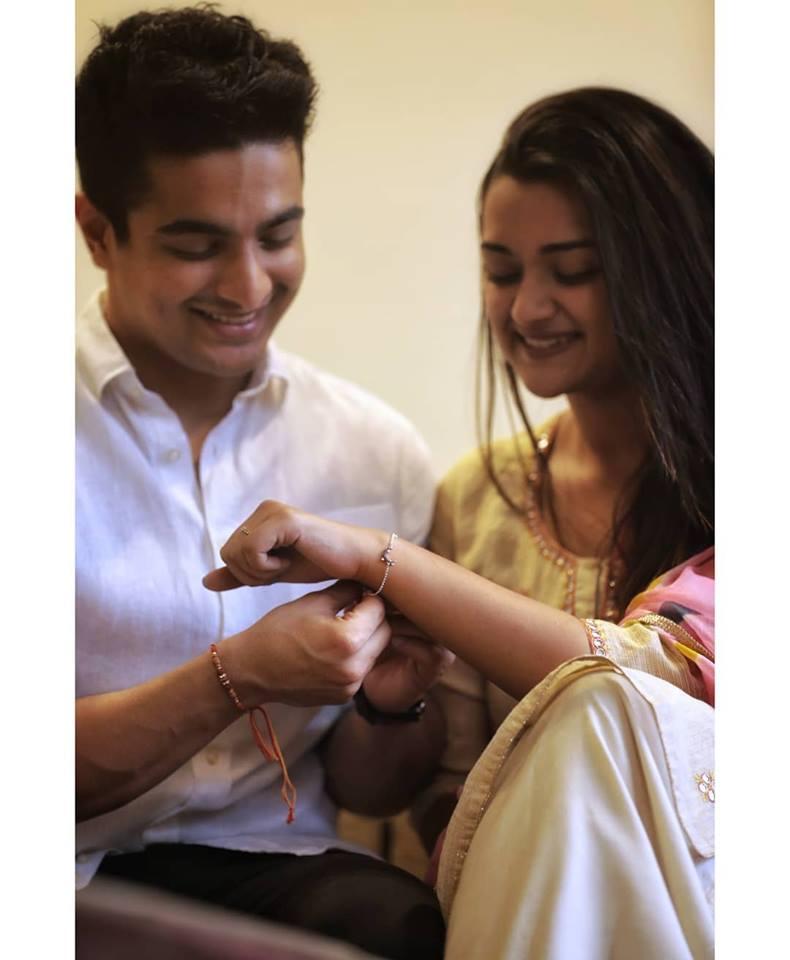 Ranveer Allahbadia with his Sister