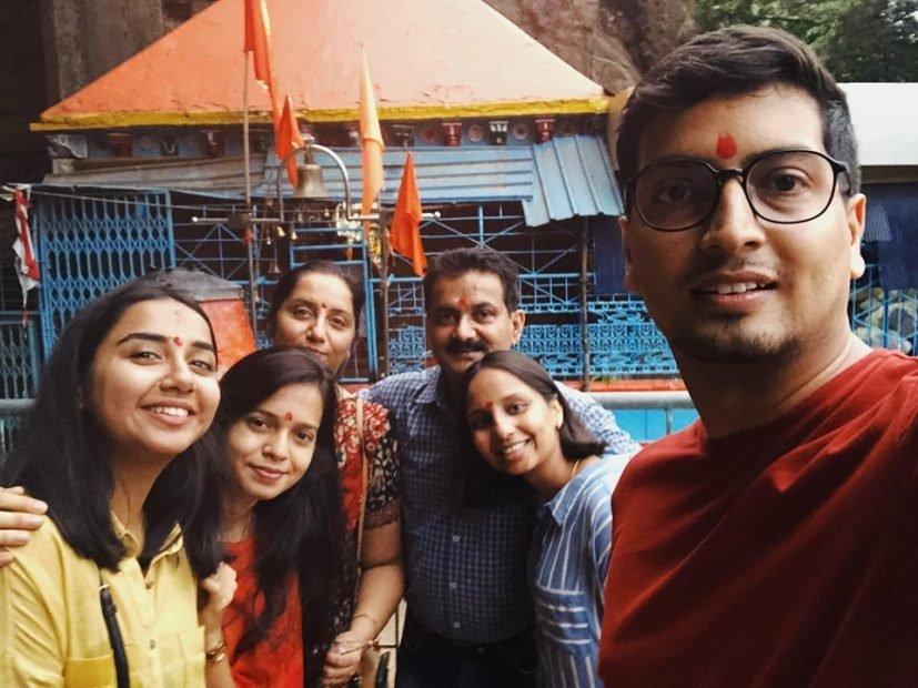Prajakta Koli family