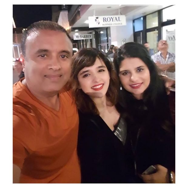 shirley setia with her family