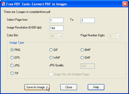 pdftool pdf images