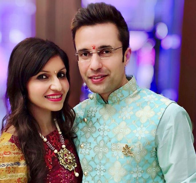 Sandeep Maheshwari With Wife Ruchi Maheshwari