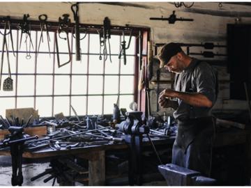 A dedicated tradesman