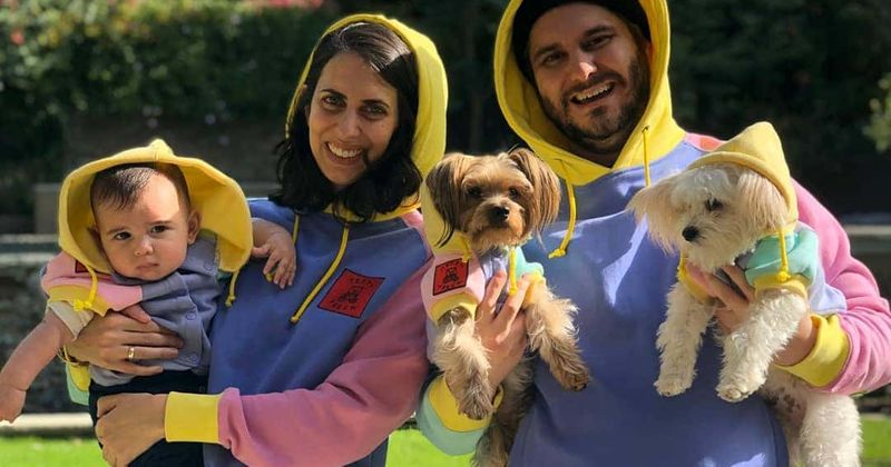 Hila Klein with Her Family