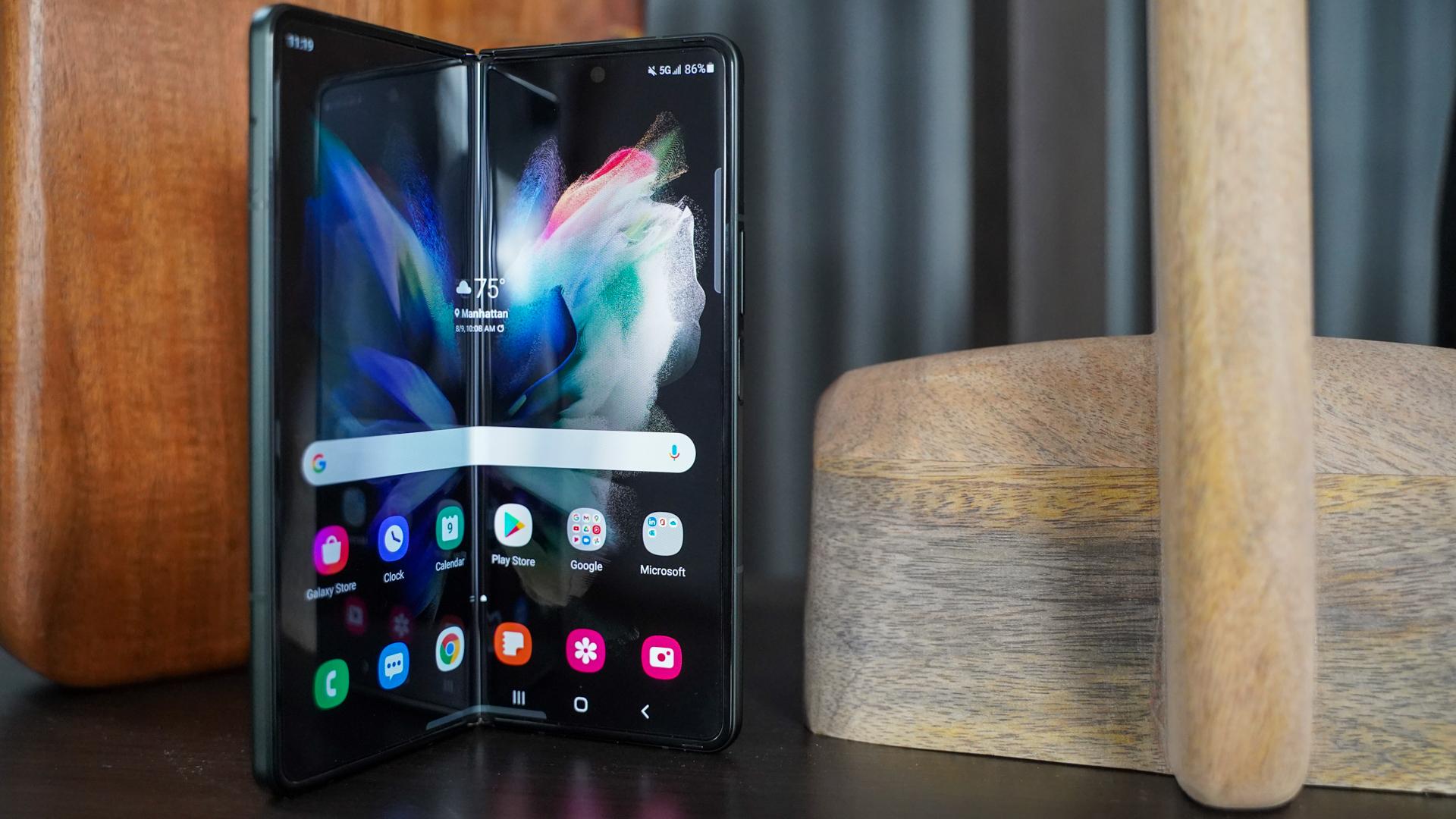 The Galaxy Z Fold 3 has its fair share of
