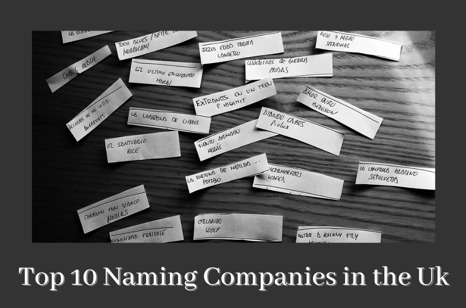 Naming Companies in the Uk