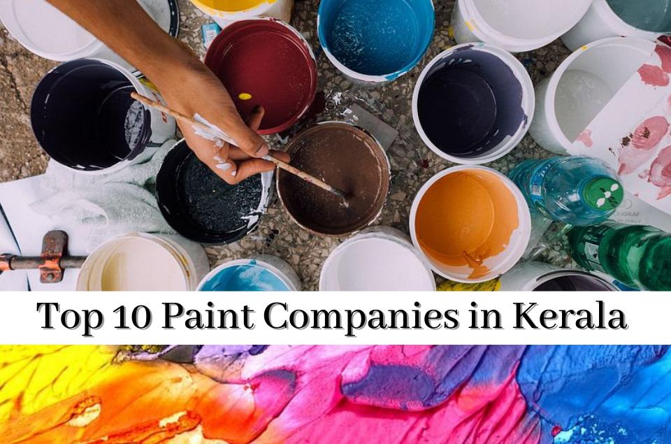 Paint Companies in Kerla