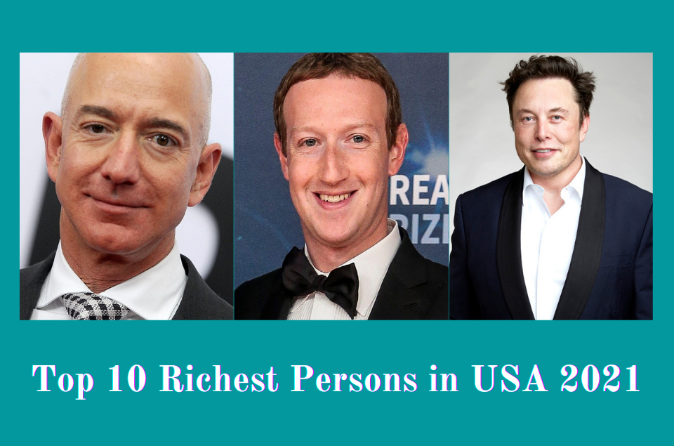 Richest Persons in USA 2021