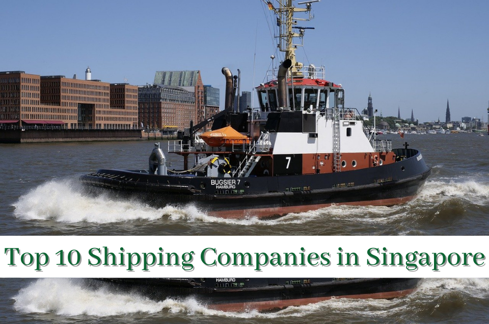 Top 10 shipping companies in Singapore