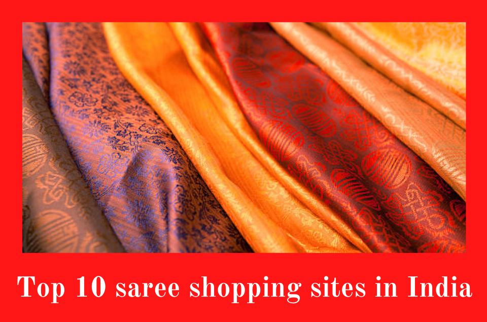 saree shopping sites in India